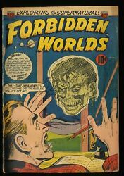 Forbidden Worlds 25 Gd 2.0 Floating Heads Cover
