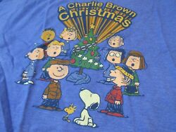Vintage Snoopy Christmas T Shirt New Old Stock Large