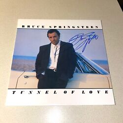 Bruce Springsteen Signed Autographed Tunnel Of Love Boss Beckett Bas Coa A40108