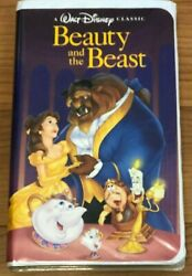 Beauty And The Beast Vhs 1325 Black Diamond Disney Classics Collectable Rare