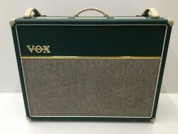 Vox Ac30c2 Combo Guitar Power Amplifier Rare Green Used