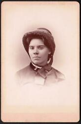 Young Female Salvation Army Soldier In Uniform Cabinet Photo - Brooklyn, Ny