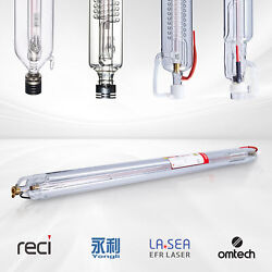 Co2 Laser Tube For 40w-150w Laser Cutting Engraving Machines Engraver Cutter Us