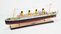 Rms Britannic White Star Line Cruise Ship Model 40 Museum Quality