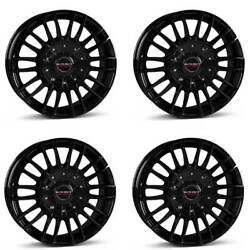 4 Borbet Wheels Cw3 8.5x19 Et40 5x115 Sw For Cadillac Cts Sts