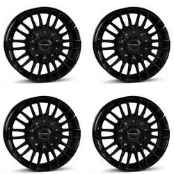 4 Borbet Wheels Cw3 9.0x20 Et40 5x115 Sw For Cadillac Cts Sts