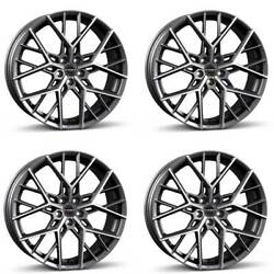 4 Borbet Wheels By 9.0x20 Et45 5x108 Titapm For Land Rover Discovery Freelander