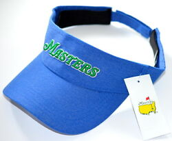 2020 Masters Royal Performance Visor From Augusta National