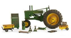 New John Deere Model A Barn Finds Tractor And Accessories 1/16 Scale Lp74594