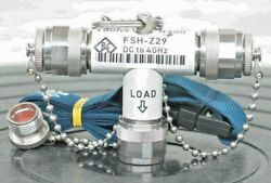 Rohde And Schwarz Fsh-z29 Open/short/load Calibration Standard, Dc To 3.6 Ghz, 50Ω