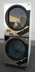 Adc American Dryer Corp Stack Dryer Coin Op, 240v 1ph, S/n 536713 [refurb]