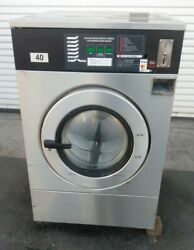 Ipso Front Load Washer Coin Op 40lb 3 Ph 240v 60hz Serial 19012599 [refurb.]