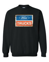Ford Truck T-shirt Ford Motor Company Vintage Logo Unisex Adult Long Sleeve