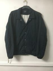 Abercrombie And Fitch Navy Jacket Size Xl Mens Long Sleeve E707