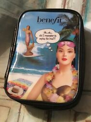 Benefit Cosmetics Picture Makeup cosmetic Travel Bag new $6.99