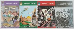 A United Front Vol. 2 1-4 Vf/nm Complete Series Mahfood 1st Liand039l Depressed Boy