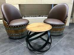 2-chair Hoop Table Set - Free Shipping