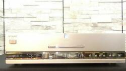sony Sacd Cd Dvd Player Dvp-s9000es overhauled Maintained Silver