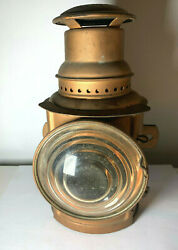 Vtg Early 1915 Lantern Dietz Monitor Side Tail Auto Truck Light Antique Old