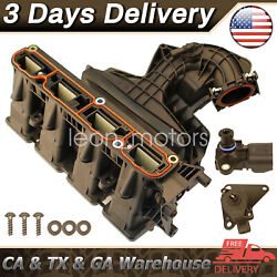 ⭐intake Manifold W/ Runner Control Valve And Sensor For Jeep Patriot Compass 2.4l⭐