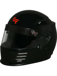 G-force Helmet Revo Full Face Head And Neck Support Black X-large 13004xlgbk