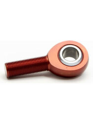 Qa1 Rod End Am Series Spherical 3/4 Bore 3/4-16 Left Hand Male Red Aml12