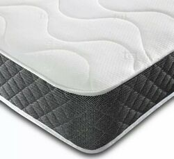 New Memory Foam Sprung Quilted Mattress.3ft.single.4ft.4ft6 Double.5ft.6ft