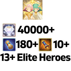 [global/android/ios] 70000+ Diamonds   Afk Arena Starter Account