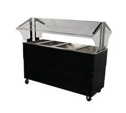 Advance Tabco Portable Cold Food Buffet Table W/ 8 Deep Well Solid Base
