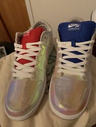 """Concepts Nike Dunk Low Sb """"holy Grail"""" Size 12 With Wooden Box"""