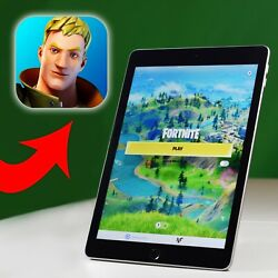 Apple Ipad 6th Gen With Fortnite Installed 9.7in 32gb Wi-fi + Free Case