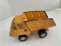 Vintage 1970and039s Tonka 9 Pressed Steel Dump Truck. Good Condition. Holiday Gift
