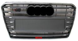 Fit For Audi A7 S7 Style 2011-2014 Front Bumper Mesh Grill Sport Radiator Grille