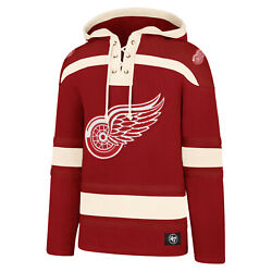 Nhl Hoody Detroit Red Wings Hooded Pullover Lacer Jersey Hooded Sweater