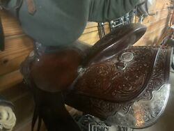 14 And A Half Inch Billy Royal Western Saddle