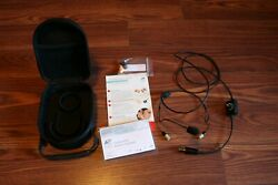 Clarity Aloft Aviation Headset With Case And Replacement Canal Tips