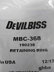Devilbiss Mbc 368 190238 Retaining Ring  New💲great Value💲look