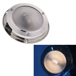 12v 10w Rv Boat Ceiling Light Interior Lighting Dome Lamp With Rocker Siwtch
