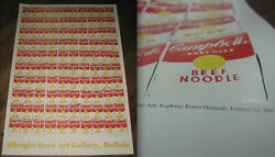 Andy Warhol 100 Cans Albright-knox Gallery Pop Art Campbells Soup Limited Ed 560