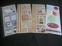 Creative Memories White Designs Formal And Pastel Stickers $4.99