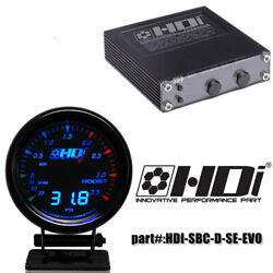 Hdi Electronic Turbo Boost Controller Ebc-r-seand3.5bar Boost Gauge Easy Install