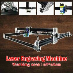 Laser Cutter Engraving Machine Grbl1.1 2axis Cnc Wood Router Easy Adjust Height