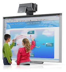 Interactive Smart Board Sbx800 And Smart Throw Projector Ux60
