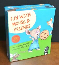 New Fun With Mouse And Friends Box Set Laura Numeroff And Felicia Bond Cookie L3