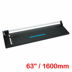 63 1600mm Manual Precision Rotary Paper Trimmer Sharp Photo Paper Cutter