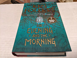 The Evening and the Morning by Ken Follett 2020 Hardcover SIGNED 1st 1st $79.99