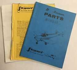 Ercoupe Skyport Illust Parts Catalog/service Info/ Univair Info/ Magazine Pages