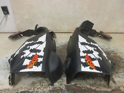 16 Polaris Rmk Pro Axys 800 Fenders Right Left Side Belly Pan Stock Oem 9027