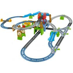Toys Train Track Set Kids Play Children Motorized Rail Road Electric Trackmaster