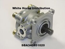 Power Steering Pump - New, For New Holland Tc34da